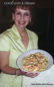 Jenny Maitia - Shrimp Scampi